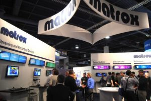Stand Matrox monarch HDX Nab 2015